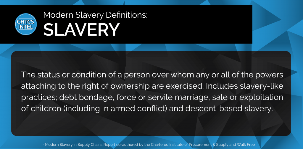 Definition of Slavery_CHTCS INTEL